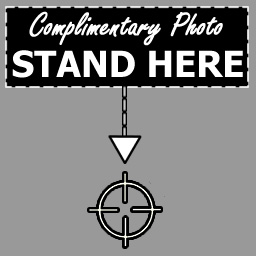 Complimentary Photo - Stand Here